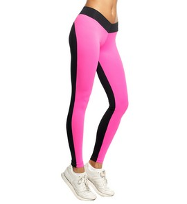 Unit leggings black/pink