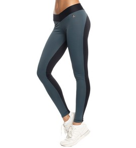 Unit leggings carbon/black