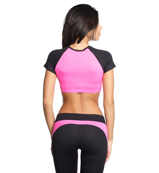 Atomic top pink/black