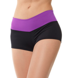 Competition shorts black/purple