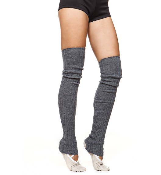 LEG WARMERS HIGH GRAY