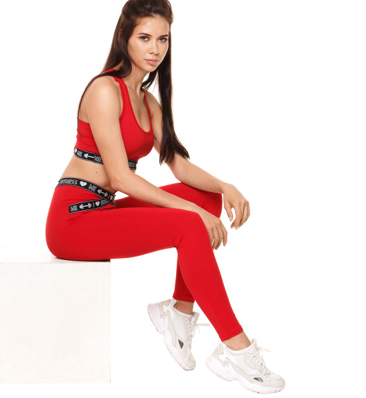 Armour leggings red