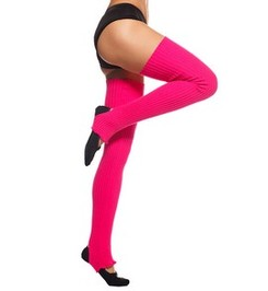 HIGH LEG WARMERS CRIMSON
