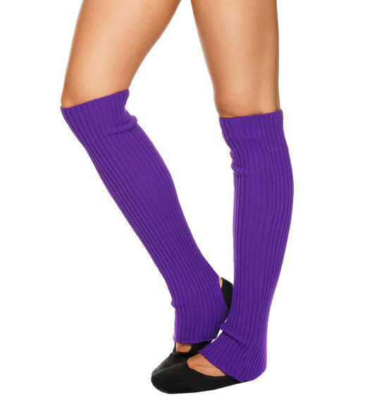 LEG WARMERS PURPLE