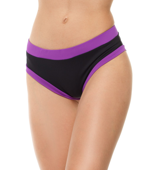 Basic shorts black/purple
