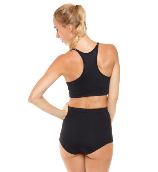 Push-up top with pads black