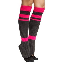 LEG WARMERS CARBON/CRIMSON