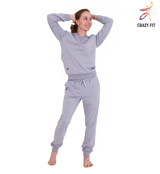 Crazy Fit sweatshirt grey