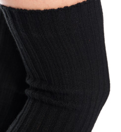HIGH LEG WARMERS BLACK