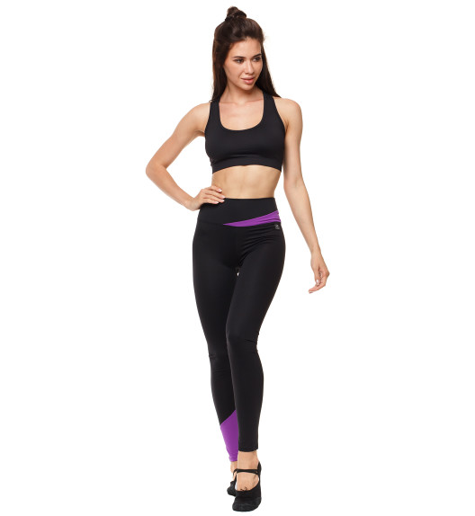 Vibe leggings black/purple